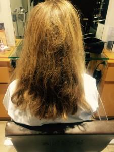 cheveux avant balayage